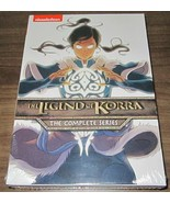 The Legend of Korra: The Complete Series (DVD, 2016, 8-Disc Set) .. seal... - $11.88