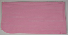 Circo Pink Receiving Blanket 29x28in Security Lovey Baby Dashes Lines St... - $7.99