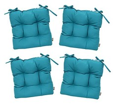RSH Décor Set of 4 - Indoor/Outdoor Sunbrella Canvas Aruba Blue/Green /... - $279.99