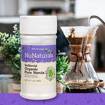 NuNaturals NuStevia Organic Pure Stevia All Natural Zero Calorie Sweetener 810 S