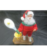 "Holiday Creations MUSICAL SANTA TENNIS PLAYER - ""We Wish You A Merry Christmas"" - $6.93"