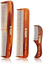 Kent Handmade Combs for Men Set of 3 - 81T, FOT and R7T - For Hair, Bear... - $37.85
