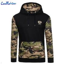 QA Camo Hoodies Autumn 2016 Men Sportwear Pullovers Comfortable Casual H... - $27.98+
