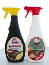 Set of 2: Oven & Grill Cleaner Degreaser Cold Action, Lemon + Fume Free 27 Oz.  - $27.99