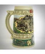 Coors Brewing Co Ceramic Beer Stein Mug Vintage Print Ad Brazil 1990 Edi... - $19.95