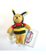 """Disney Store Winnie the Pooh Mini 4"""" Plush Bumble Bee Pooh Magnet with Tags - $9.99"""