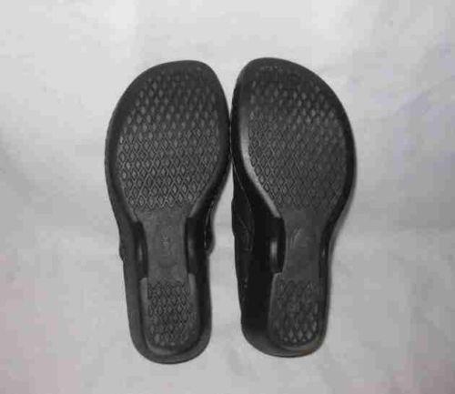 Great Womens Size 6 BOC Born Wedge/Platform Shoes Black