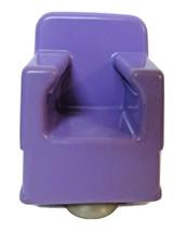 Barbie Twisty Curls Purple Beauty Hair Salon Chair 1982 Suction Cup Bottom EUC  - $12.00