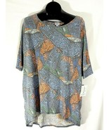 LuLaRoe Irma Womens Shirt Size XL Tribal Multicolor New with Tags Q - $16.99