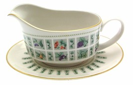 Royal Doulton Tapestry TC1024 Gravy Boat and Underplate - $79.62