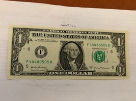 USA United States $1.00 unc. banknote 2017 - $3.95