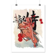 Fantasy Samurai Japan Anime Art Matte/Glossy Poster A0 A1 A2 A3 A4 | Wel... - £6.13 GBP+