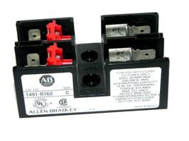 ALLEN BRADLEY 1491-R162 FUSE BLOCK SER. C 1491R162