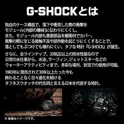CASIO G-SHOCK GW-M5610BB-1JF GLOSSY BLACK Series Atomic Watch JAPAN GW-M5610BB-1