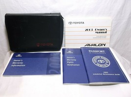 2003..03 Toyota AVALON/ Owner's MANUAL/ GUIDE/ BOOK/ Case - $21.04
