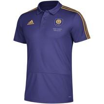 New Adidas MLS Orlando City SC Climalite Coaches Polo Shirt Soccer Jerse... - $26.99