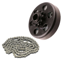 Centrifugal Clutch 20MM Bore 10T W/ 420 Chain 106 Links For Lawn Mower Go Kart - $39.50