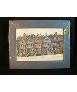 San Francisco Art : Debbie Patrick Hand Colored Signed Print of Steiner ... - $32.00