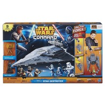 Star Wars Command Star Destroyer Comes with 9 Figures & Vehicles from Ep... - $18.99