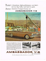 Vintage 1960 Magazine Ad Rambler Ambassador Is The Only Compact Luxury Car - $5.93