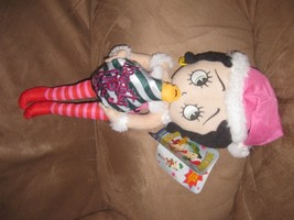 2012 BETTY BOOP CHRISTMAS Naughty Or Nice New Licensed Plush NWT With Ta... - $7.99