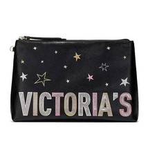 Victoria's Secret CELESTIAL Shimmer Cosmetic Makeup Bag Clutch Pouch NWT - $34.64
