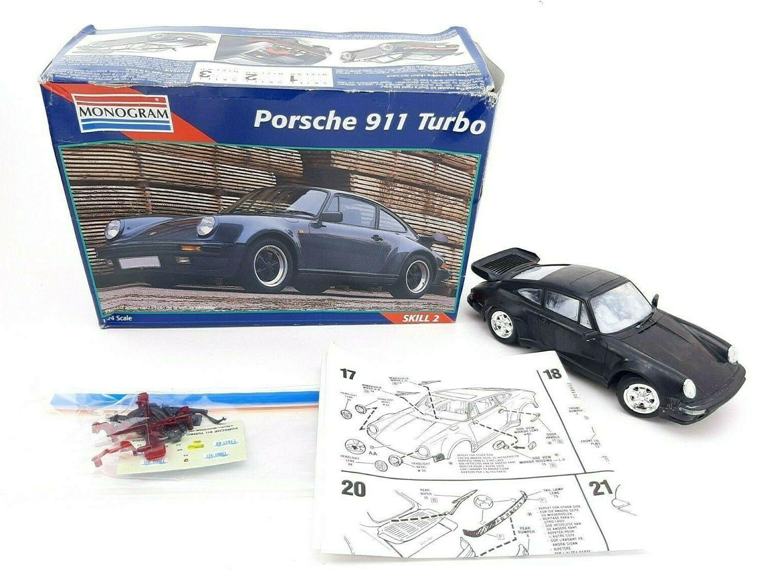 Porsche 911 Turbo 1/24 Scale Monogram  - $11.35