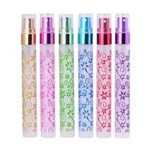 Perfume Atomizer Flower Printing Bottles - $12.14