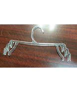 "Wholesale Bra Panty Lingerie 10"" Triple Clasp Clear Plastic Hanger Holds... - $24.99"