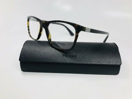 New Authentic Prada VPR 05S 2AU-101 Havana Eyeglasses 53mm with Case - $89.05