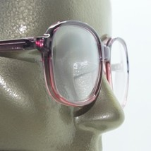 Purple Wine Ombre Frame Reading Glasses Polished Acrylic 2-tone +2.50 Lens Power - $26.00
