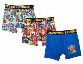 SUPERMAN BATMAN JUSTICE LEAGUE 3-Pack Boxer Briefs Underwear NWT Boys Si... - $9.99