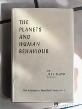 The Planets And Human Behaviour By Jeff Mayo - $83.30