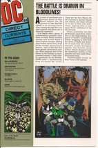 DC Direct Currents #64 Bloodlines w/ X-Men Poster  - $4.95