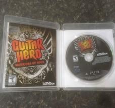 PS3 Guitar hero games lot of 3 Aerosmith-Van Halen-Warriors of Rock- Com... - $33.80