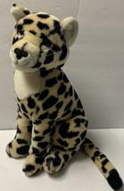 """Vintage Dakin Fun Farm 15"""" Tall Firm Stuffed Plush Leopard Cheetah 1986 - $30.59"""