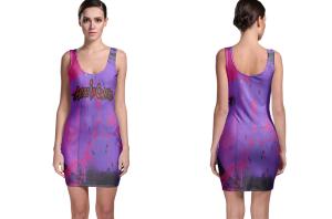 Alice of chain bodycon dress