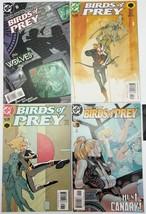 Birds of Prey 44 46 60 Wolves #1 DC Comics Volume 1 Set of 4 Comic book Lot - $5.12