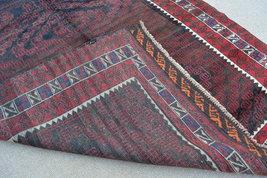 Size:10 ft by 5 ft Handmade Afghan Tribal Zangeri Taimani Baluch Rug - $1,050.00