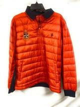 Men's Polo Sport Ralph Lauren 1938-1939 RLFC Collared Puffer Coat Orange... - $89.09