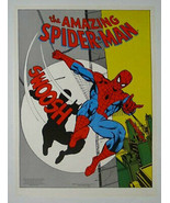 Rare vintage original 1979 Amazing Spider-man 22x17 Marvel Comics poster... - $49.49