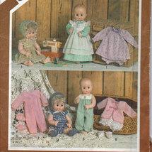 "Simplicity 5615 Doll Wardrobe for 17-18"" Doll - $3.00"