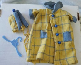"Vintage 50's Doll coat & hat for 15"" 16"" dolls ... - $18.32"