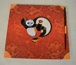 Kung Fu Panda Dreamworks Graphic Arts Animation Treatment Book 2008 2 DVDS - $247.45