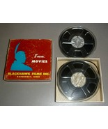 "Crazy Like a Fox (1926) Oliver Hardy - 8mm Blackhawk Films (2) Two 5"" Reels - $15.75"