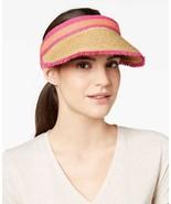 August Hat Colorblocked Women's Straw Visor - $18.92+