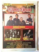 COOL Duran Duran 2016 Music News Local Magazine! - $4.99