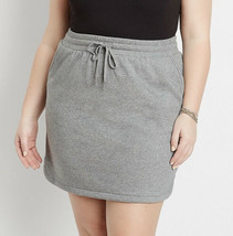 Maurices Women's Size 4X 26 Heather Gray French Terry Skirt Sweat Lounge... - $19.90