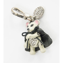 Juicy Couture Vampire Mouse Limited Edition FULL SIZE Silver Bracelet Ch... - $73.76