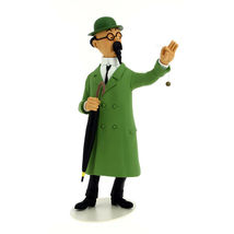 Professor Calculus resin statue from collection  Le Musée Imaginaire de Tintin